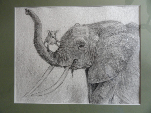 You can pull some inspiration simply from what poles' favorite animals are. This one was for a baby shower gift. Mother likes Elephants and the theme was lamb.