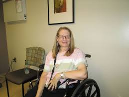 My dear friend Susan Shacka, activist and owner of the Facebook group Ataxians Helping Other Ataxians. She has become a beacon of hope for so many sufferes of Neurological disorders. https://www.facebook.com/groups/ataxianshoa/