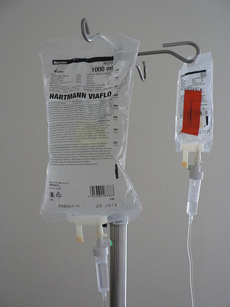 "An Anaphylactic  shock leading to death from an IV Medication such as Penicillin may satisfy the ""but for"" test"