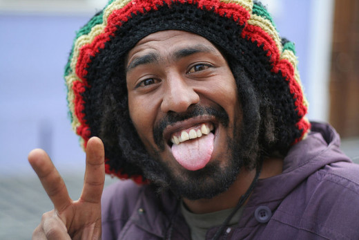 Bob Marley, legendary reggae musician died at age 36.  Sadly, an aggressive form of melanoma under his toenail was originally dismissed as a mere soccer injury.   Photograph by Bruno Henrique Baruta Barreto from Brasil.