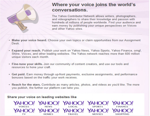 Yahoo Voices!
