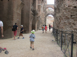 Ambling along at the Palatine...