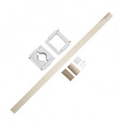 These are the components you get in the Safeway Safety Gate installation pack