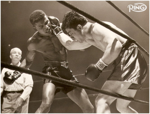 Sugar Ray beat the undefeated Marty Servo on the way up in the welterweight division.