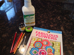 My coloring supplies.