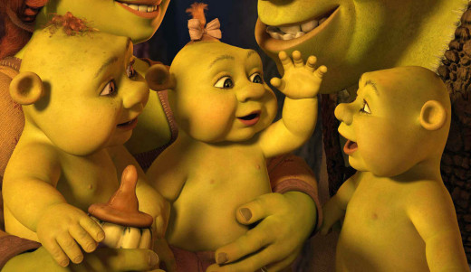 With his wife Fiona, and triplets Fergus, Farkle and Felicia, Shrek has everything he wants... Or has he?