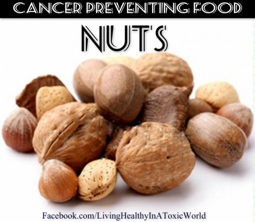 Nuts are a anticancer food
