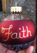 A Personal Touch on Christmas Ornaments