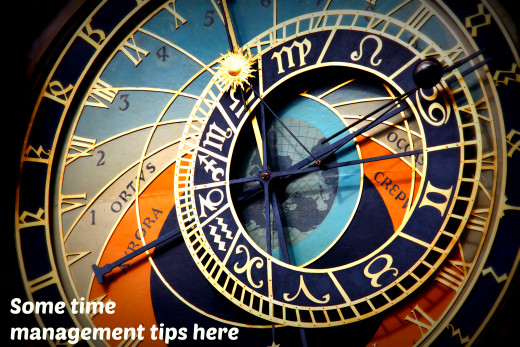 Click to read some time management tips