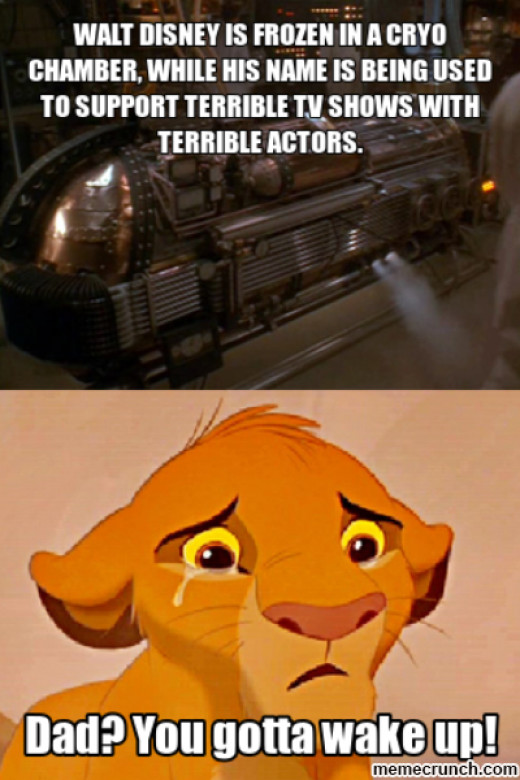 Save us Mr. Disney, you're our only hope!
