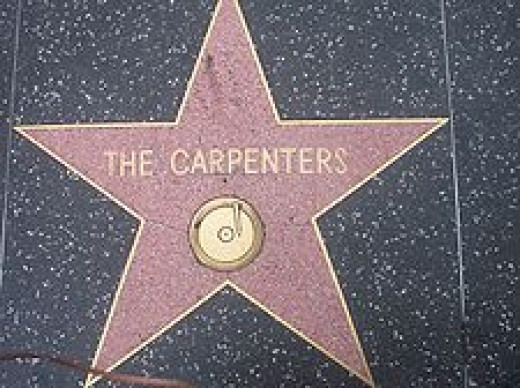 The Carpenter's Star on the Hollywood Walk of Fame