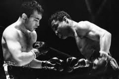 Henry Armstrong and Barney Ross fought in a war for the welterweight title.