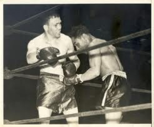Henry Armstrong had two of his toughest bouts against Lou Ambers.