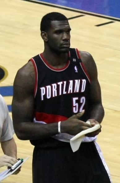 Lebron James, like Greg Oden shown here, wears the weight of basketball stardom on his wrinkled forehead.
