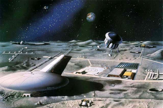 Proposed moon base
