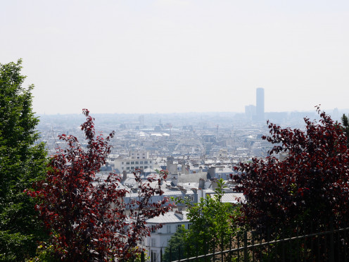 Another view from the top of Montmartre