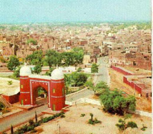 Multan city