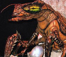 "Meganulon as seen in ""Godzilla vs. Meguirus"""