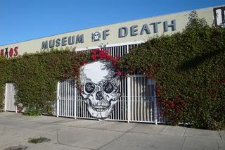 The Museum of Death in Hollywood, CA houses The Resurrection of GG Allin exhibit.