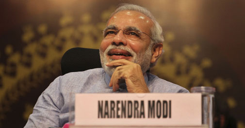 Narendra Modi,the present Prime Minister of India is going to receive a gross payment of 160000 INR.