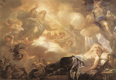 God appears to Solomon in a dream