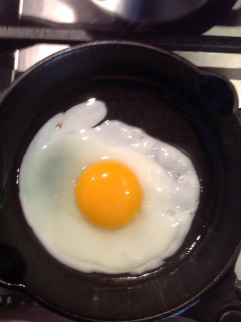 Egg - low heat