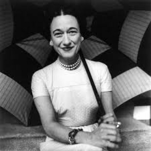 Famous Divorced Woman Wallis Simpson For Whom The Duke Of Windsor Abdicated