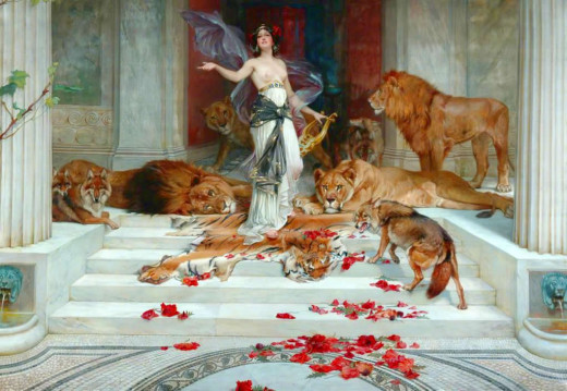 The Greek Enchantress Circe By Wright Barker