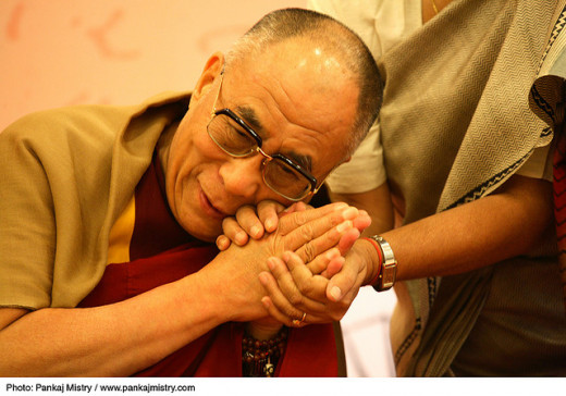 The Dalai Lama At The International Centenary Conference, New Delhi