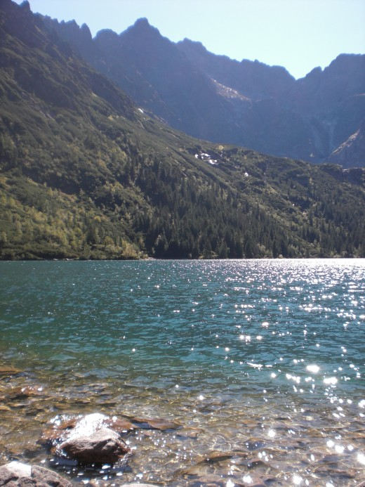The refreshing view of Morskie Oko rewards those who spend hours hiking to see it.