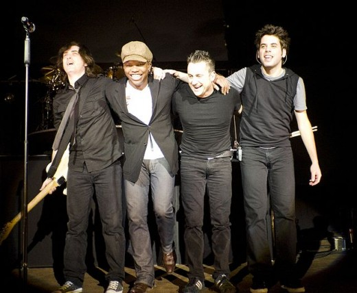The Newsboys featuring Michael Tait circa 2009