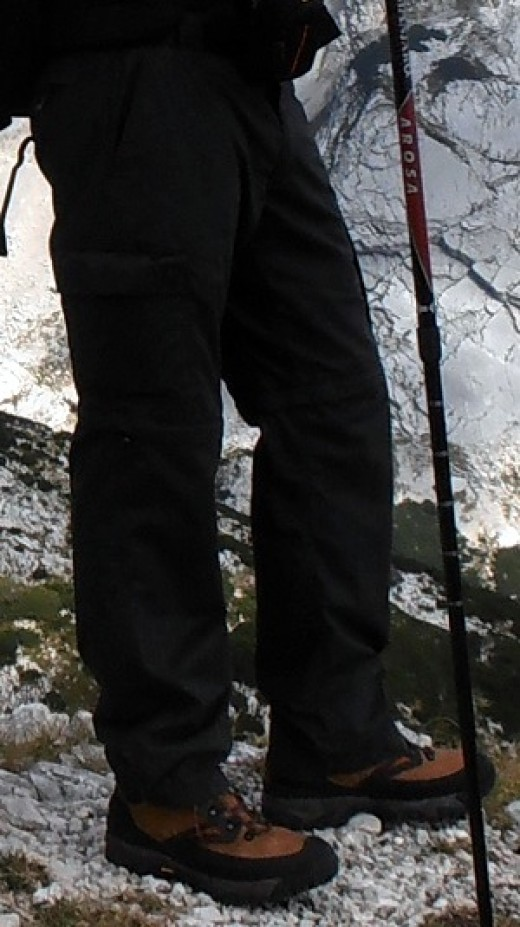 Hiking Pants in action...