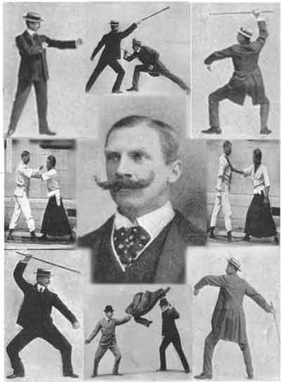 Bartitsu, the martial art of gentlemen