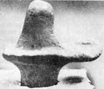 Shivalingam found at Kalibangan site, dating back to 2600 BC