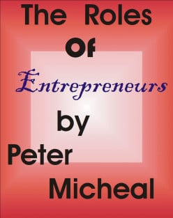 Roles of entrepreneurs