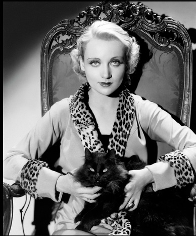 Carole Lombard was the highest-paid star in Hollywood in the late 1930s.  Do any of my readers remember her?