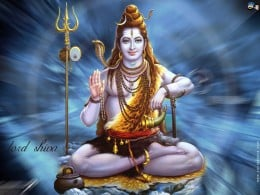 Lord Shiva in human form!