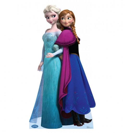 Princess Elsa Anna Lifesize Standup Poster