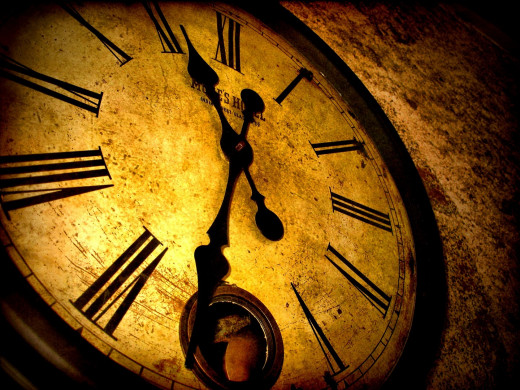 Do you know how many times the clock's hands overlap everyday?