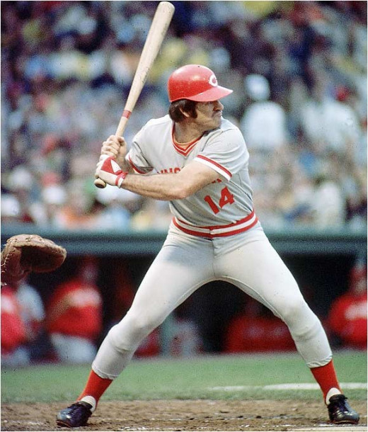 "Pete ""Charlie Hustle"" Rose played 24 seasons in the MLB and during his time playing he managed to find his way into the record books, by notching 4,256 hits over his career."