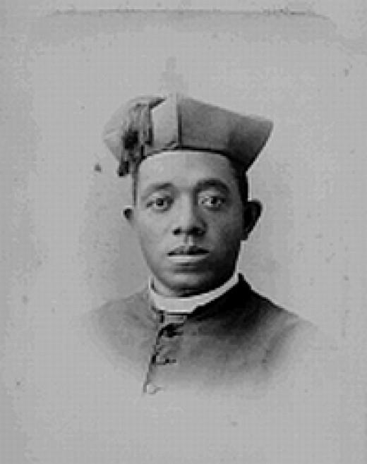 Portrait of Fr. Augustus Tolton taken in Chicago in the 1890s.
