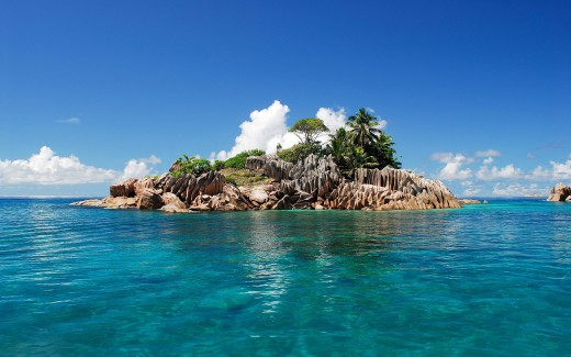 What are the three things are want to have with you on a deserted island?