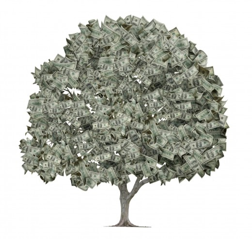 Money is not always green!