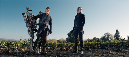 Tom Cruise and Emily Blunt star in the science fiction action thriller Edge of Tomorrow