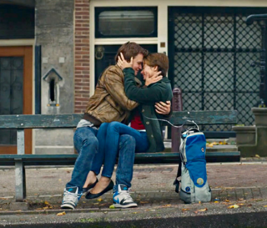 Ansel Elgort and Shailene Woodley star in the tear jerker The Fault in Our Stars about two kids stricken with cancer who fall in love