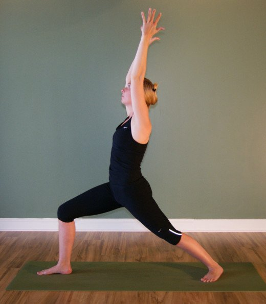 Virabhadrasana I - Warrior Pose I