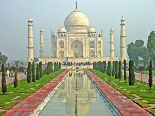 Taj Mahal - A Mughal Architectural Marvel - One of the Wonders Of The World