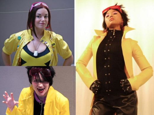 Jubilee Alternate Cosplay Costumes