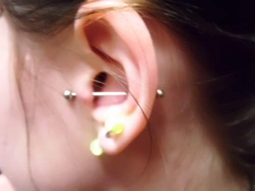 Can Hydrogen Peroxide Cure Ear Piercing Infection Tatring