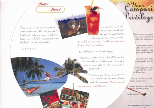 My Direct Mail Brochure For Campari